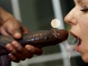 My First Interracial BBC Sex Kate Truu Deeptroat & Fuck by Huge Black Cock