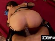 Gorgeous Ebony Babe Aliana Love Gets Rammed by a Black Stud