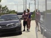 BANGBROS - Big Booty Pornstar Bella Bellz Fuckin' Random Dudes In Miami!