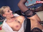 Bums Buero - Big Tits German MILF Interracial Hot SEX In Office - LETSDOEIT